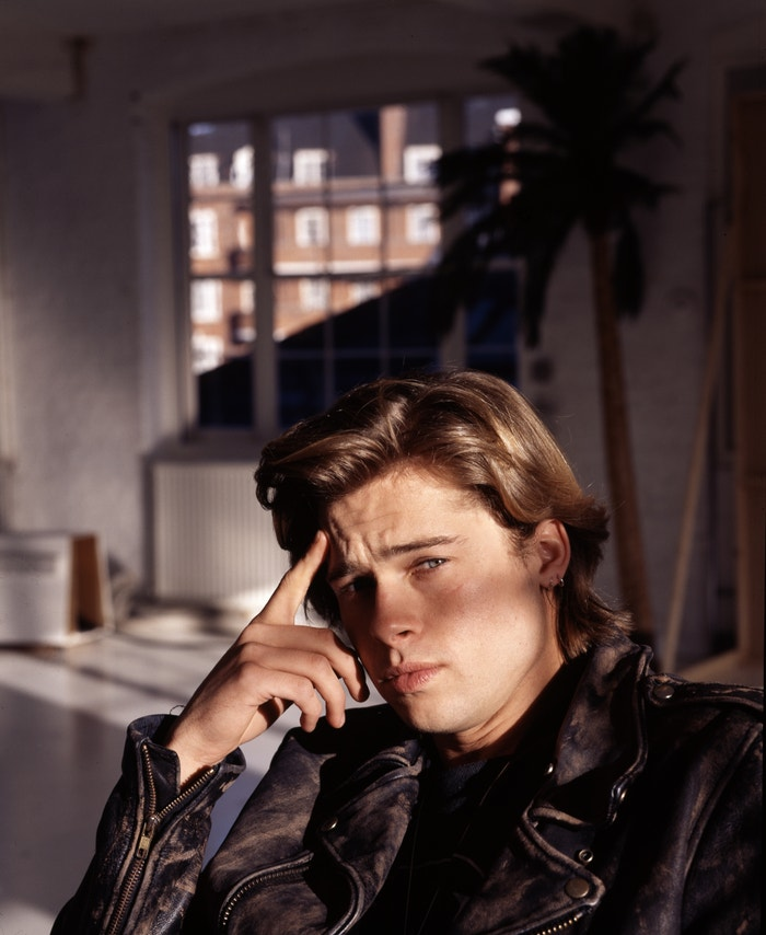 Brad Pitt, 1988 Autor: Michael Putland/Getty Images