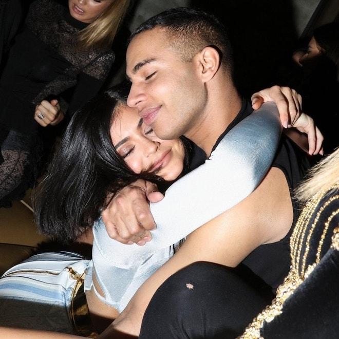 Kylie Jenner a Olivier Rousteing, květen 2016