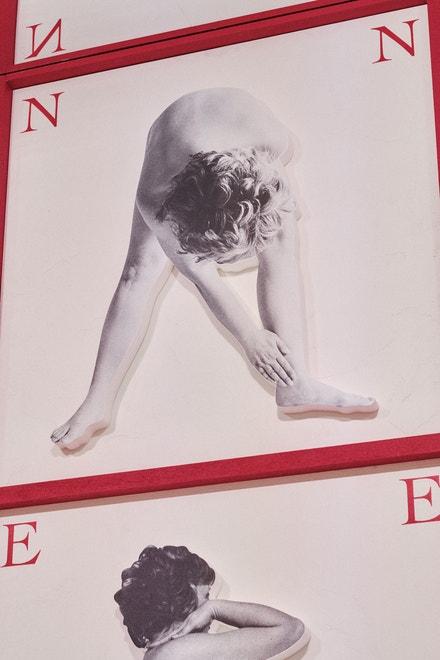 Fotografie Biancy Pucciarelli Menna v Musée Rodin v Paříži