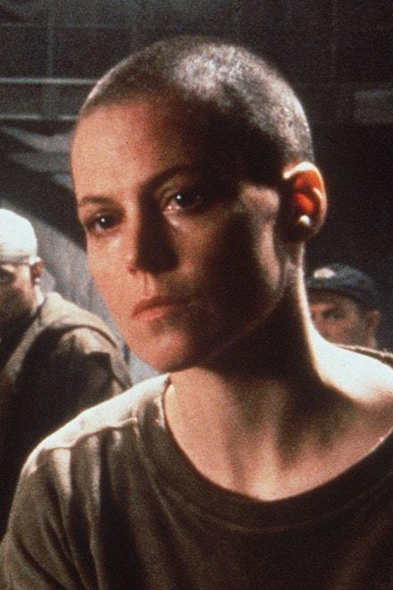 Sigourney Weaver ve filmu Vetřelec 3, 1992
