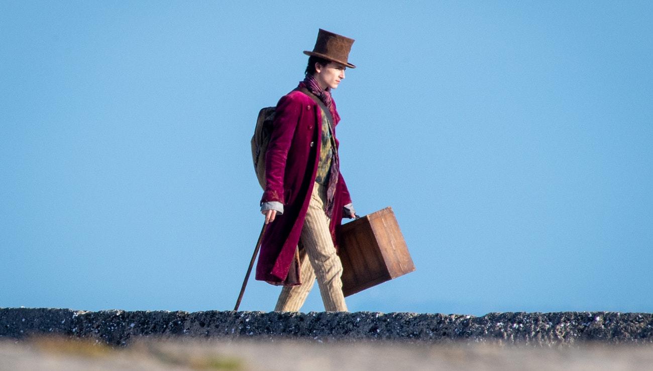Timothée Chalamet jako příští Willy Wonka