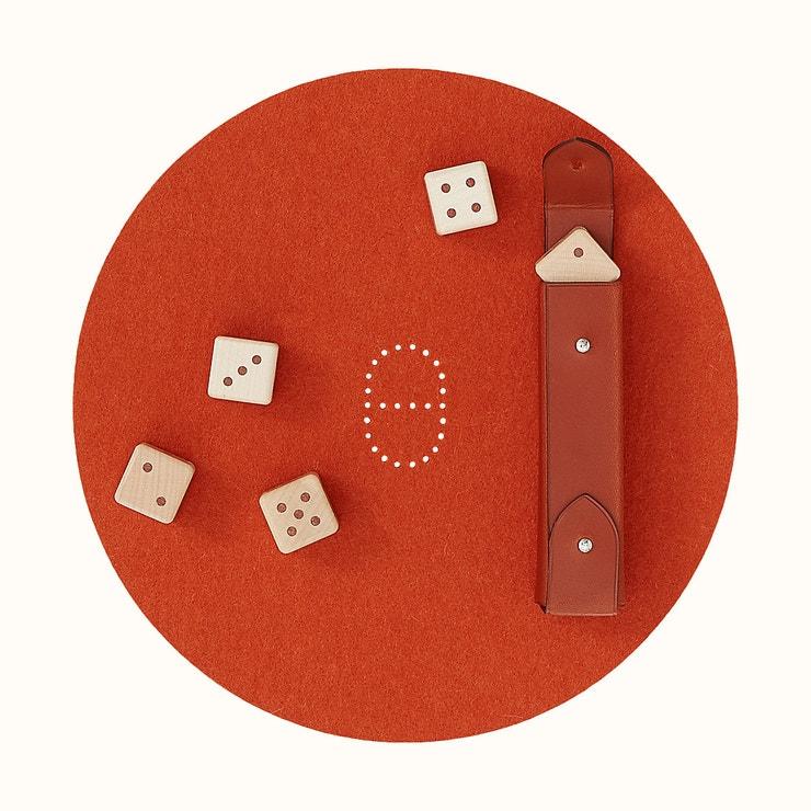 Declick dice game, Hermés, prodává Hermés, 20 900 Kč