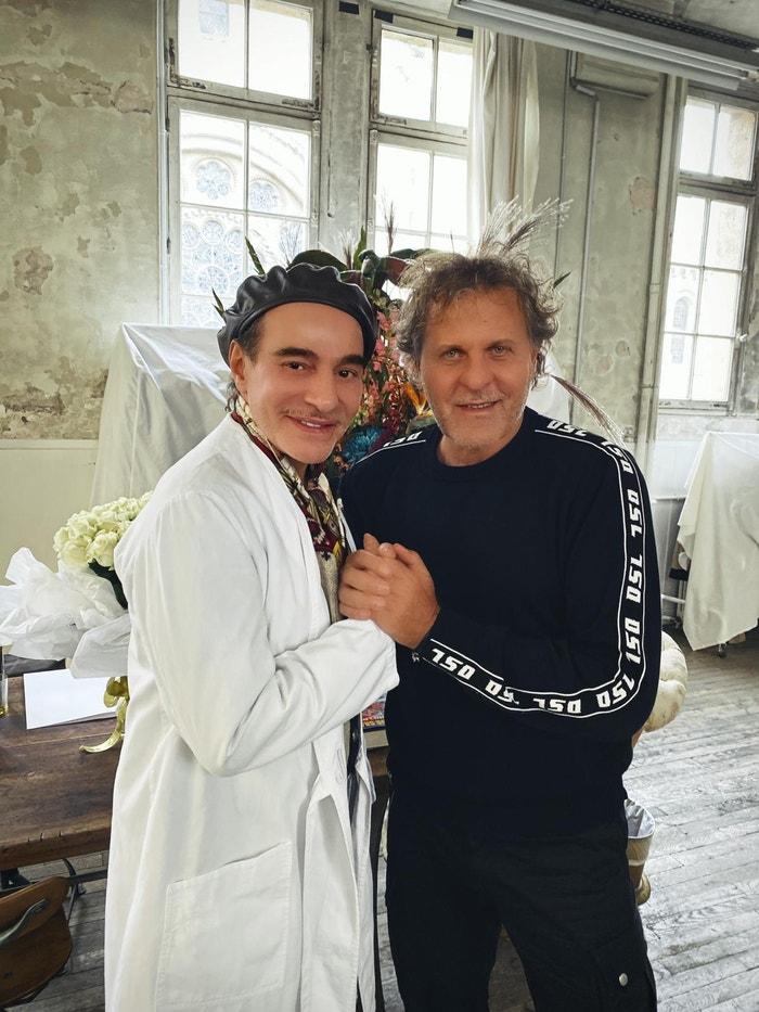 John Galliano a Renzo Rosso