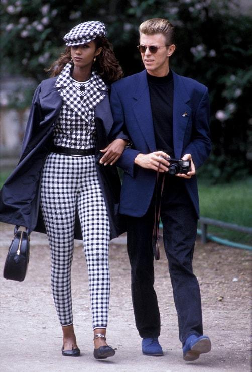 David Bowie a Iman v Paříži, 1991