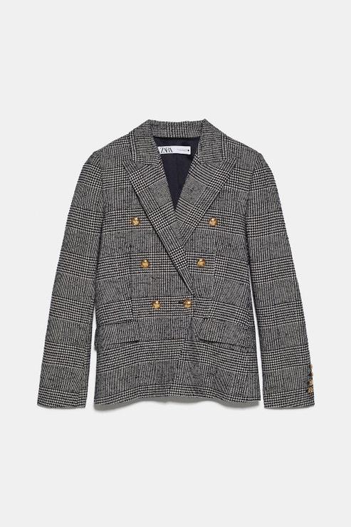 Blejzr s dvouřadým zapínáním, Zara, prodává Zara, 2 599 Kč