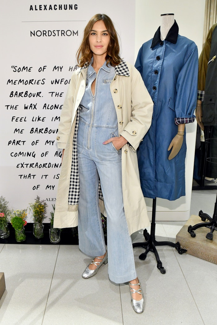 Alexa Chung            Autor: Craig Barritt/Getty Images for Barbour