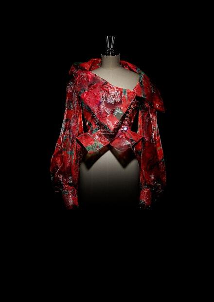 Halenka z haute couture kolekce Tribute to Paul Cézanne podzim - zima 1995