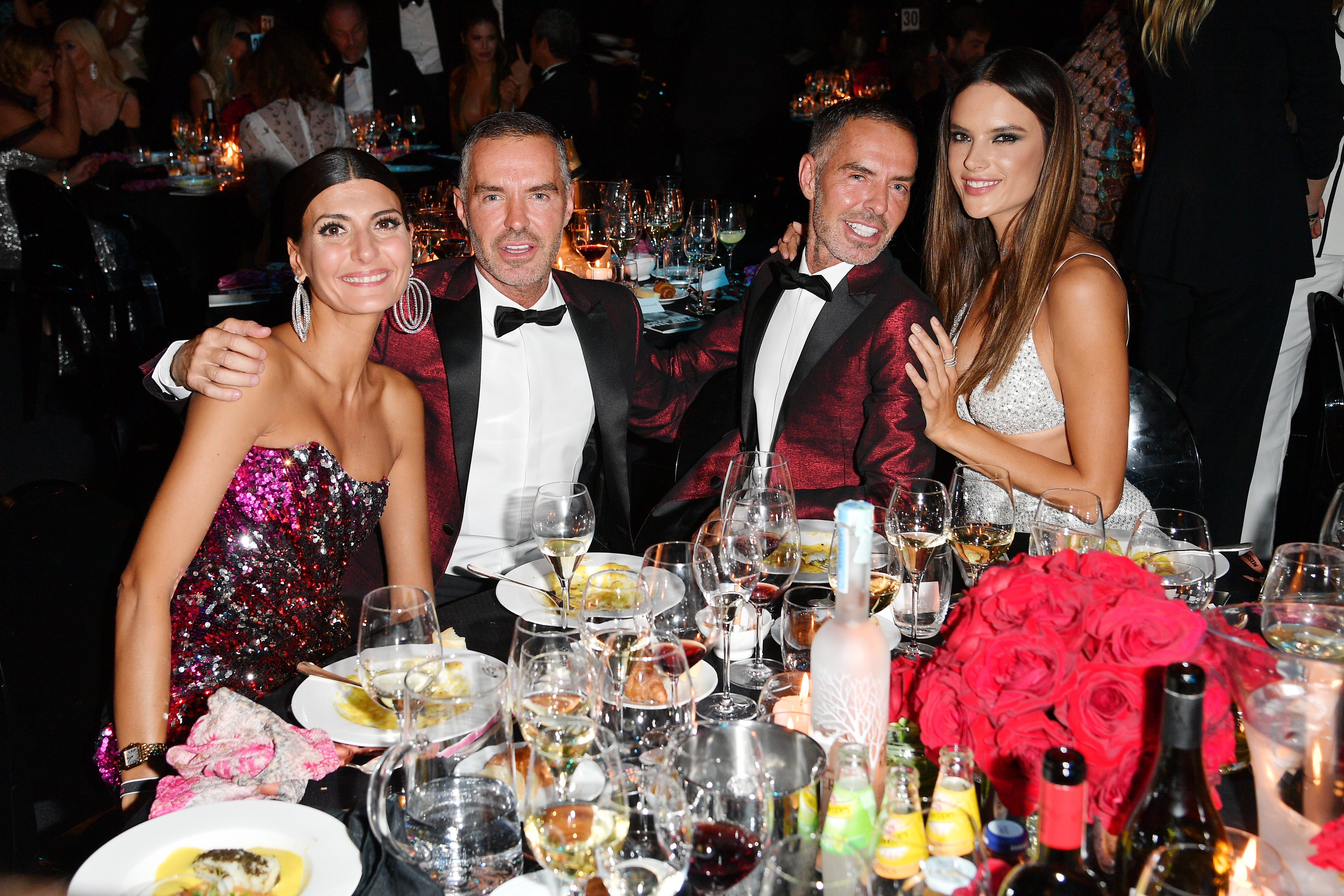 Dan a Dean Catenovi, Giovanna Battaglia a Alessandra Ambrosio Autor: Getty Images