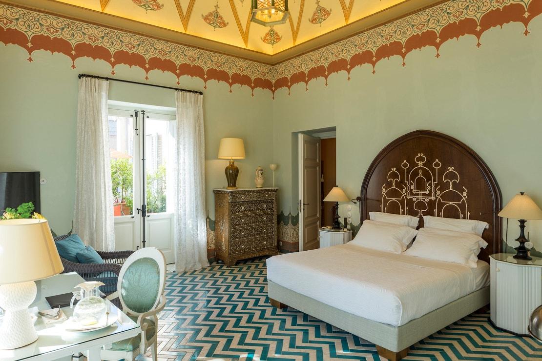 Suite Nine v hotelu Palazzo Margherita