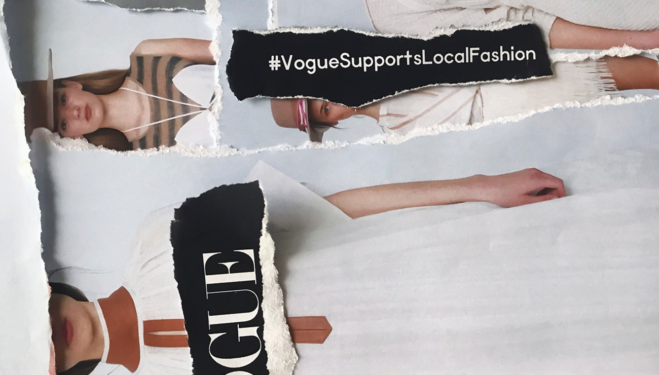 Vogue Supports Local Fashion: CHATTY SS20