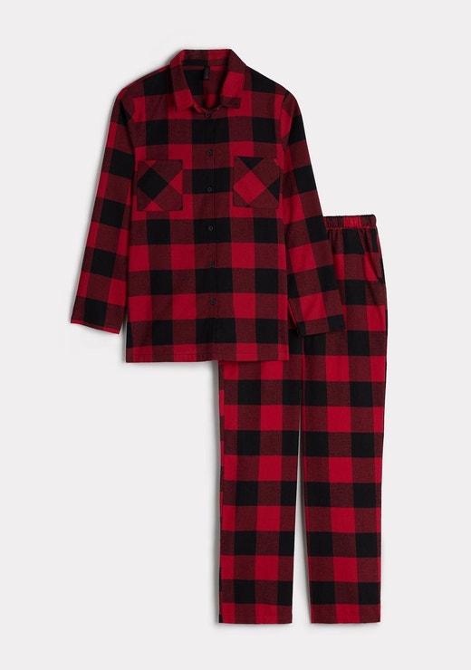 Tartanové pyžamo pánského střihu, INTIMISSIMI, prodává Intimissimi