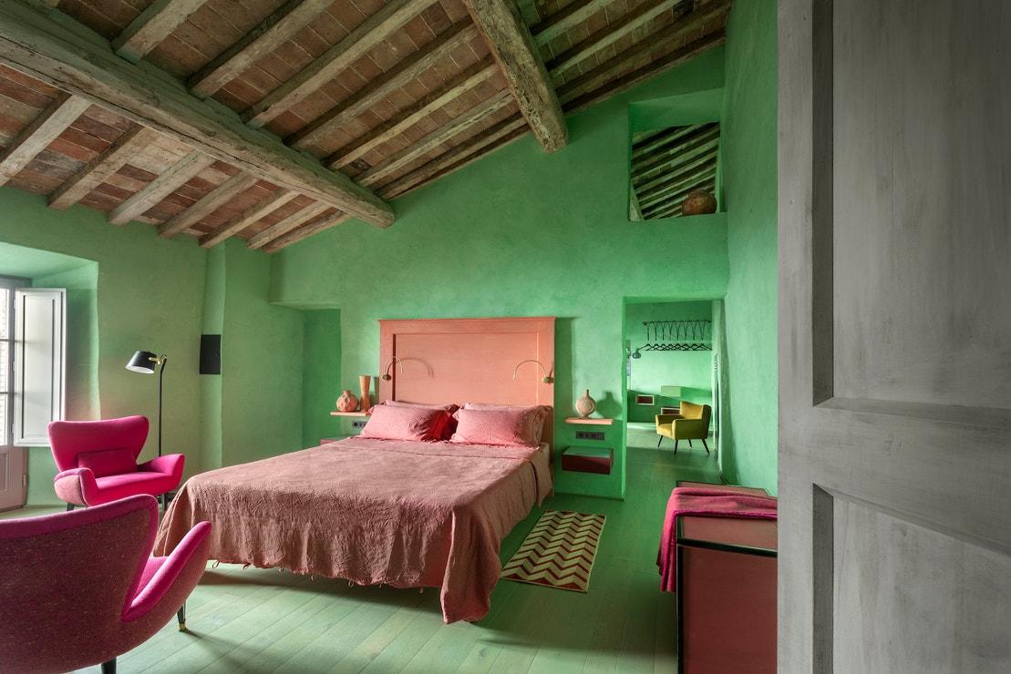 Apartmá hotelu Monteverdi Tuscany