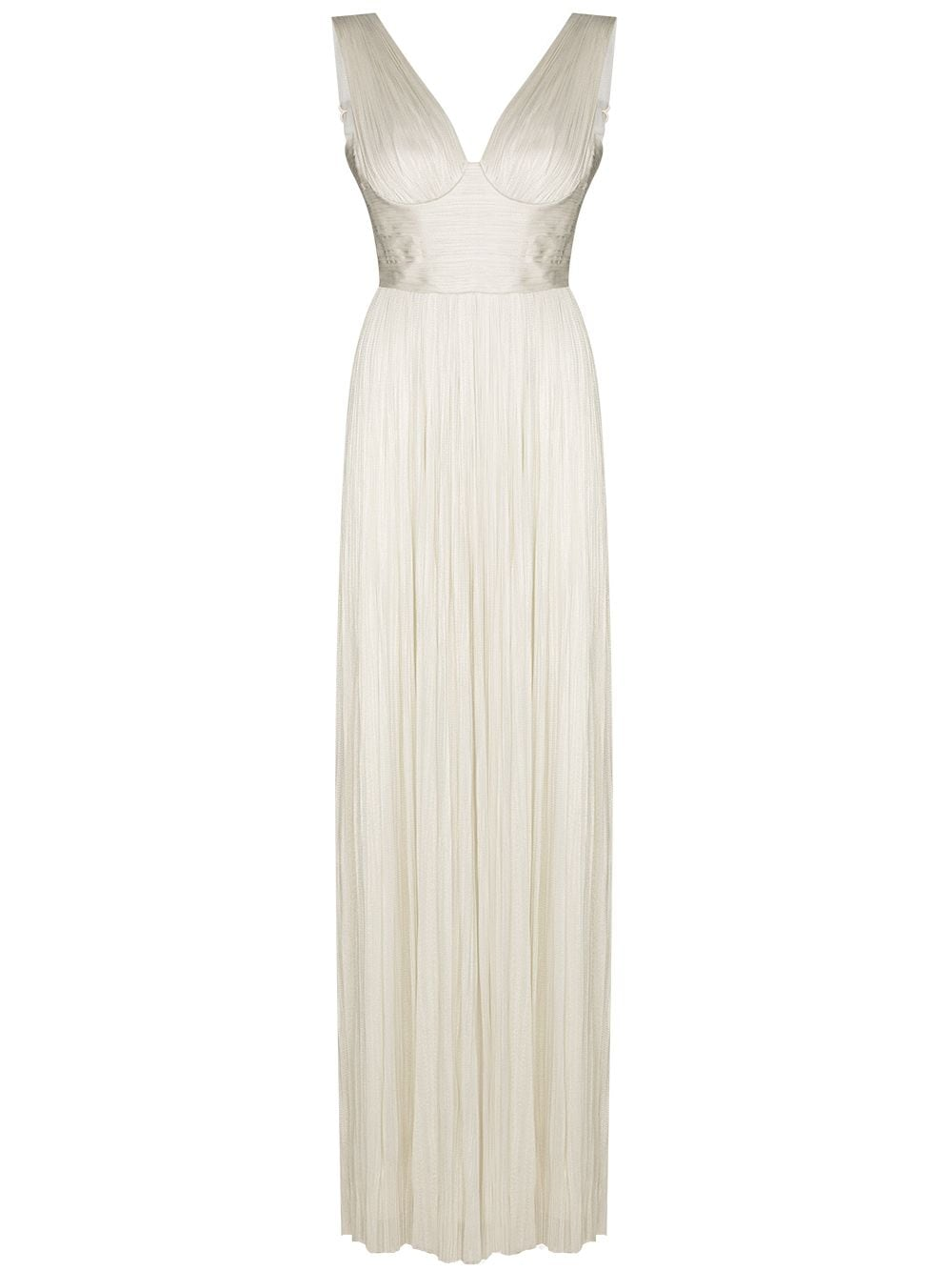 Bílé plisované šaty, MARIA LUCIA HOHAN