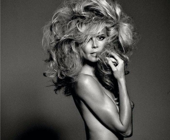 Heidi Klum pro Vogue Italia