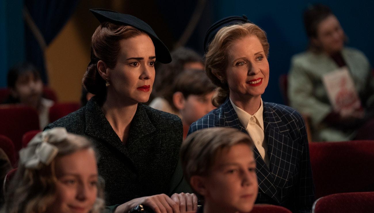Sarah Paulson a Cynthia Nixon o novém seriálu Ratched na Netflixu