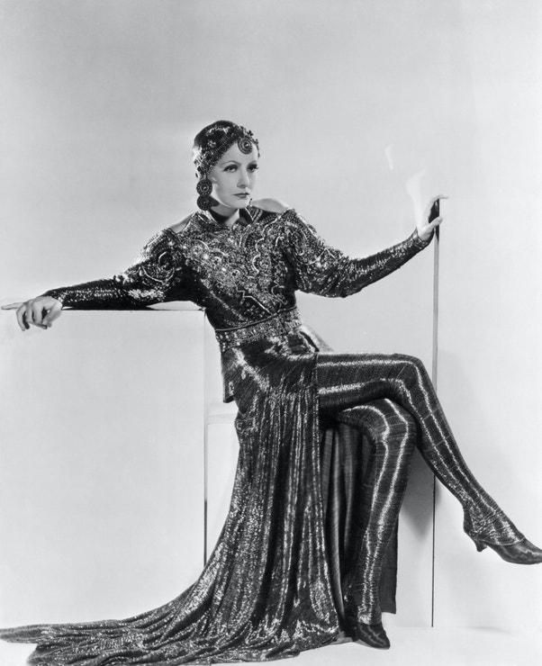 Greta Garbo ve filmu Mata Hari, 1931