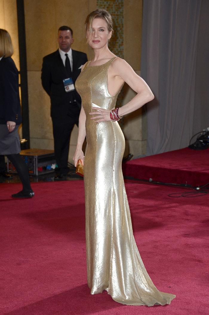 Renée Zellweger na Oscarech v roce 2013 Autor: Getty Images