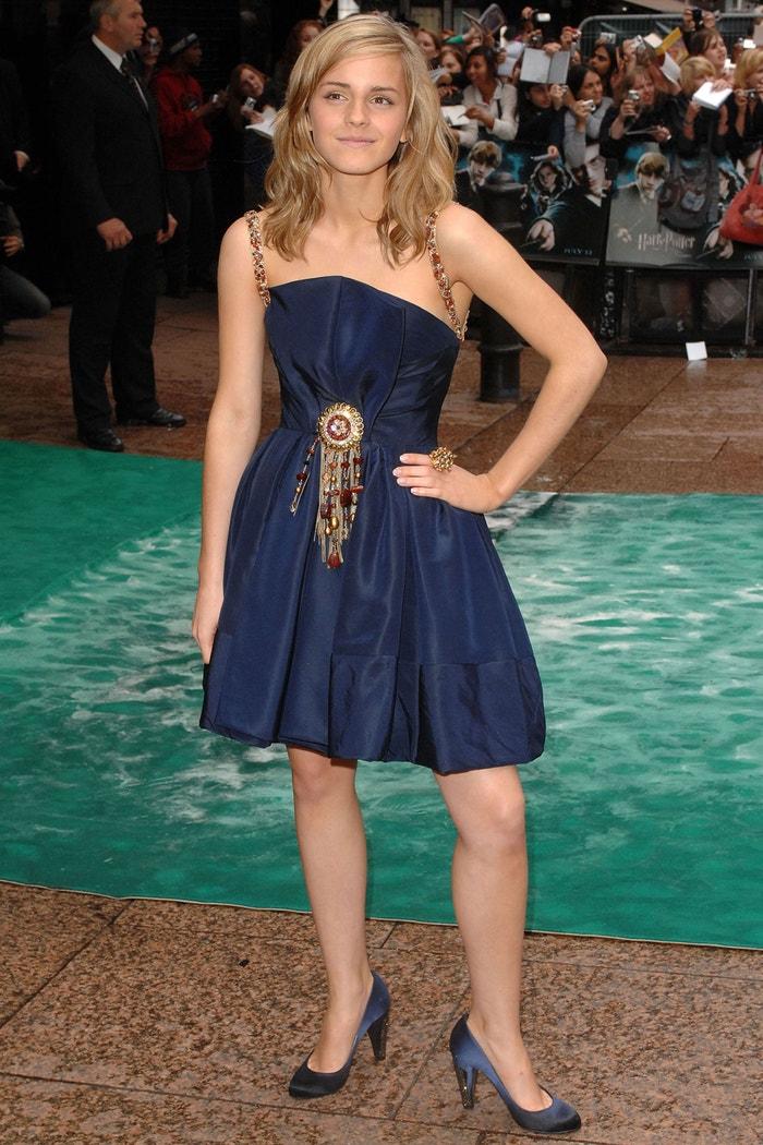 Na premiéře filmu Harry Potter a Fénixův řád, 2007  Autor: Getty Images