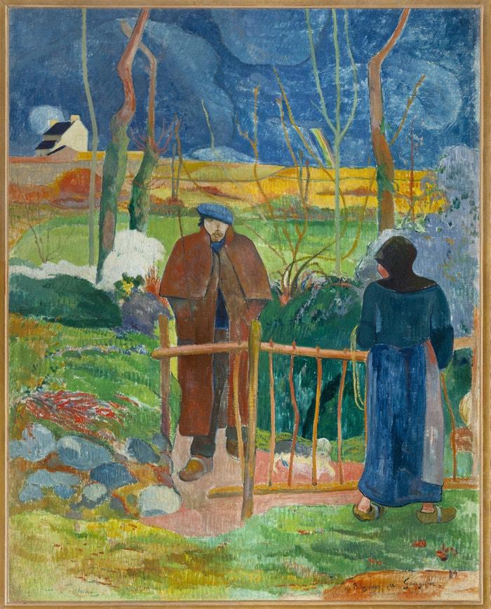 Paul Gauguin, Bonjour, Monsieur Gauguin, 1889