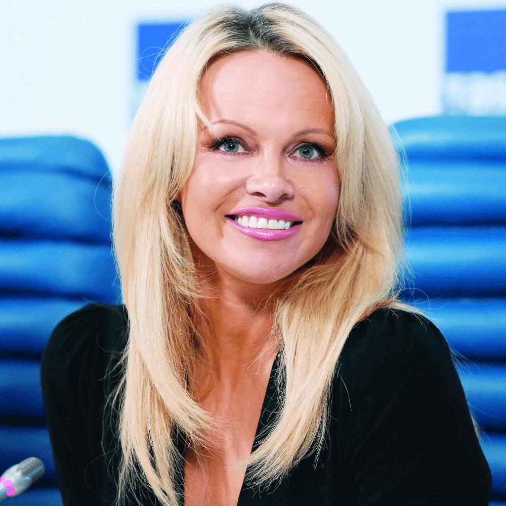 Pamela Anderson,  herečka a aktivistka