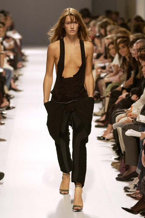 Balenciaga, kolekce jaro 2002