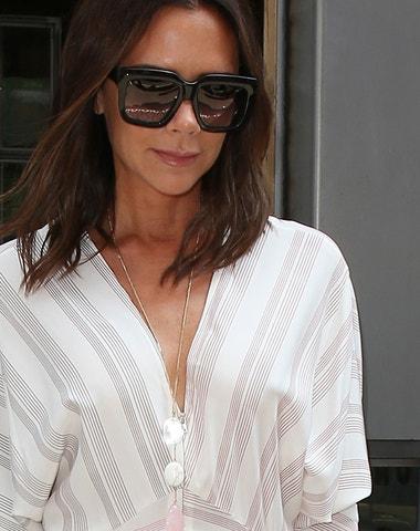 Victoria Beckham a její cit pro bílou ve všech odstínech
