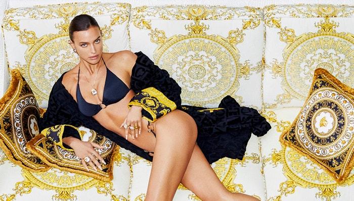 Irina Shayk v listopadové Vogue CS