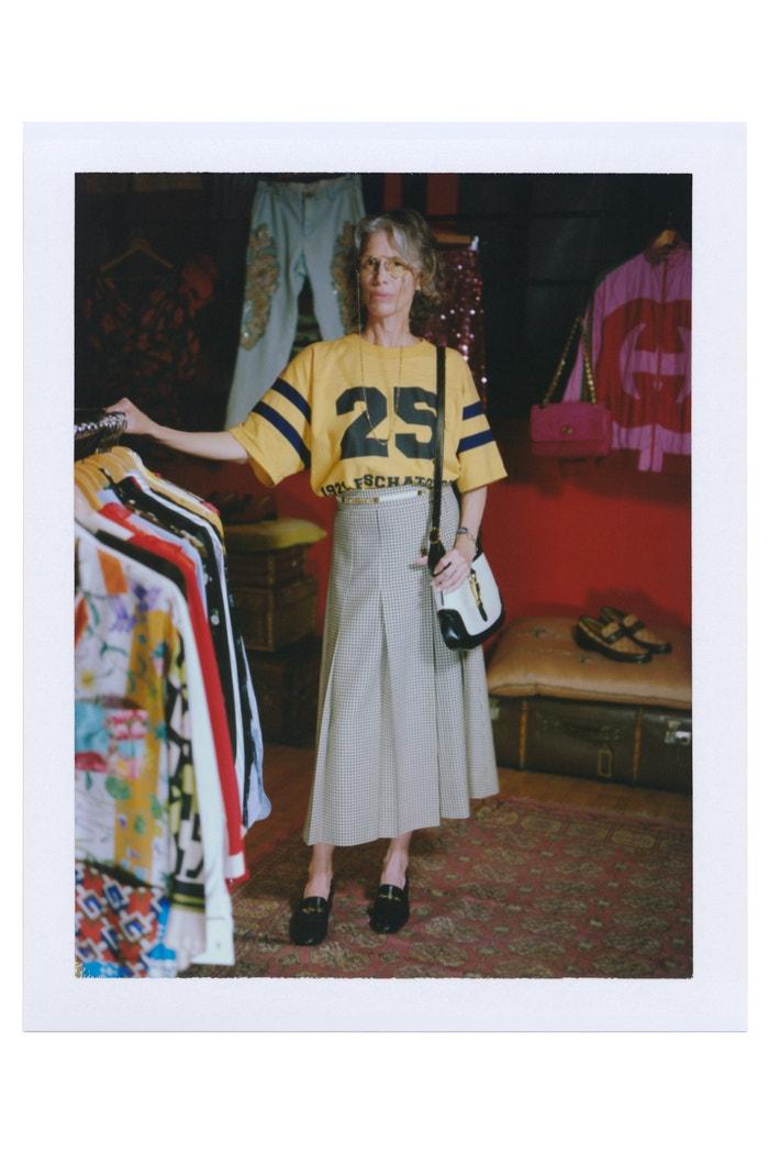 Gucci pre-fall 2021         Autor: Gus Van Sant / Gucci