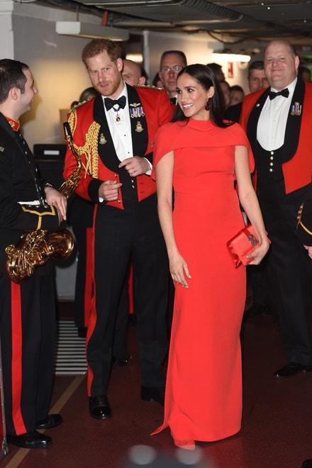 Princ Harry a vévodkyně Meghan, 7. března 2020 v Londýně