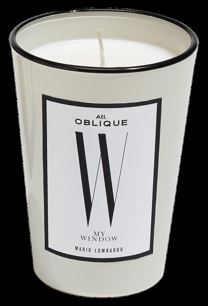 Vonná svíčka W My Window, Atelier Oblique, prodává Byssine.com, 1550 Kč