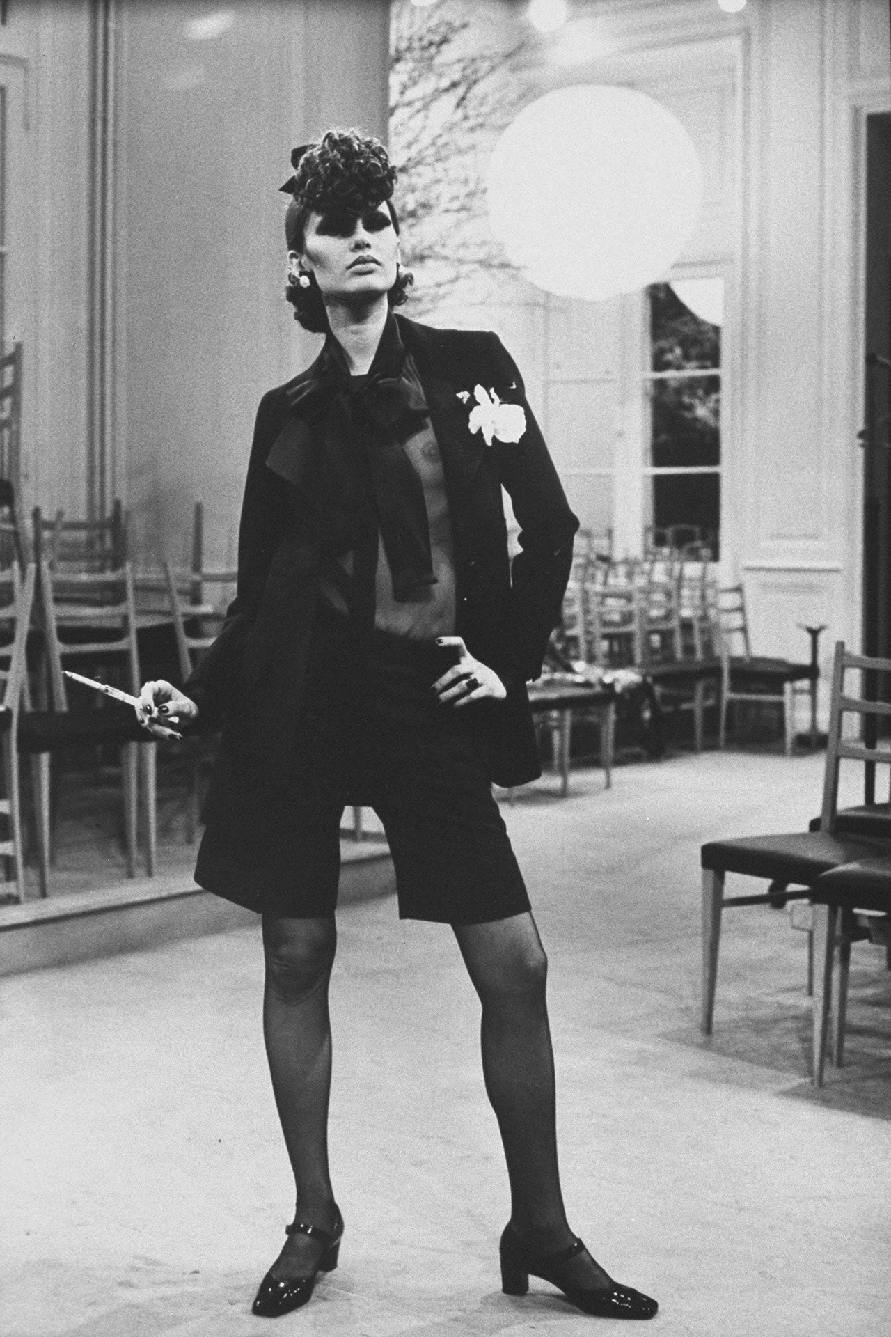 Danielle Sauvajeon v modelu YSL, 1968 Autor: Bill Ray/The Life Picture Collection via Getty Images/Getty Images