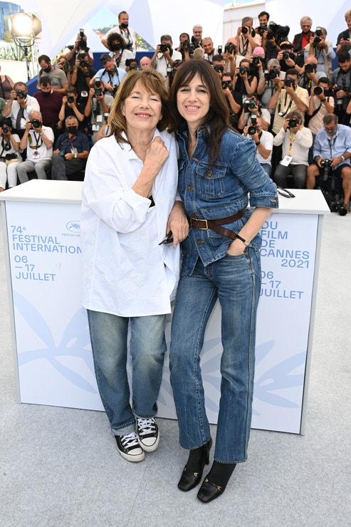 Jane Birkin a Charlotte Gainsbourg v Saint Laurent