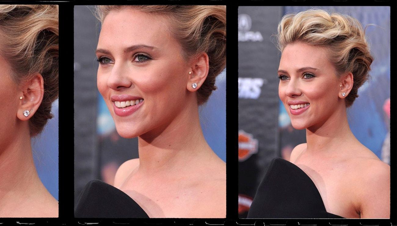 Top beauty looky Scarlett Johansson