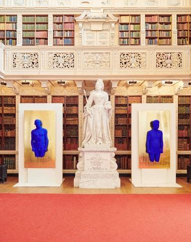 Yves Klein a jeho modrý odkaz