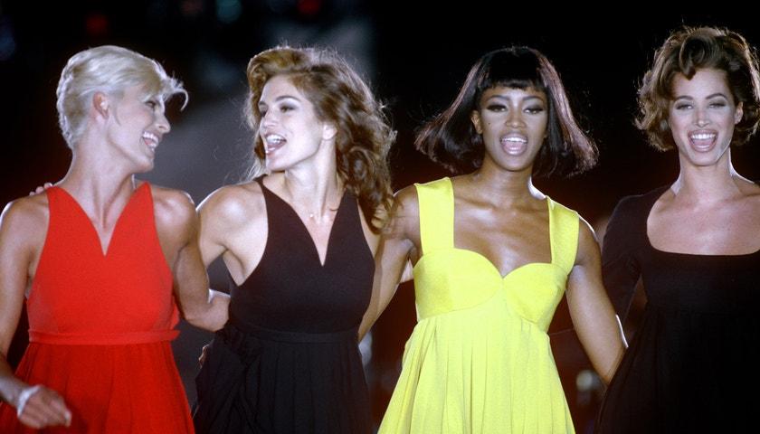 Ikonické momenty z přehlídek Versace