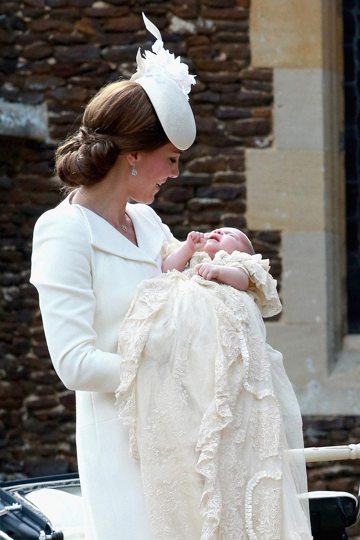 Vévodkyně Kate a princezna Charlotte, 2015 Autor: REX/Shutterstock