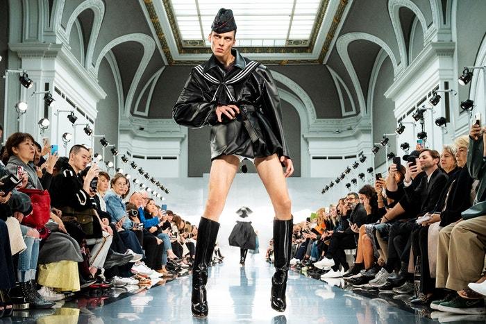 Leon Dame, Maison Margiela Ready to Wear Spring/Summer 2020, Paris Fashion Week, 2019 Autor: Peter White/Getty Images