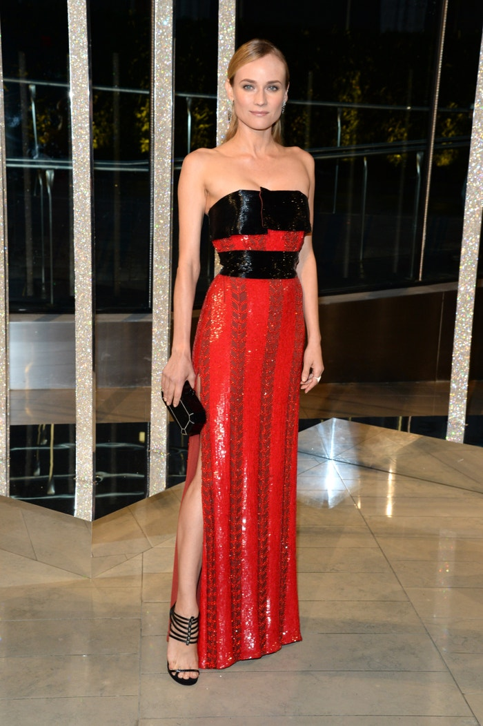 Diane Kruger in Prabal Gurung at the CFDA Fashion Awards in New York on June 1, 2015. Autor: Getty Images