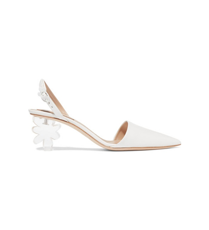 Kožené boty na nízkém podpatku, Simone Rocha, prodává Net-A-Porter, 788 €
