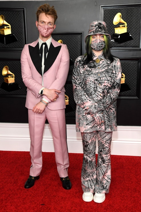 Finneas O'Connell a Billie Eilish v Gucci, Grammy Award 2021