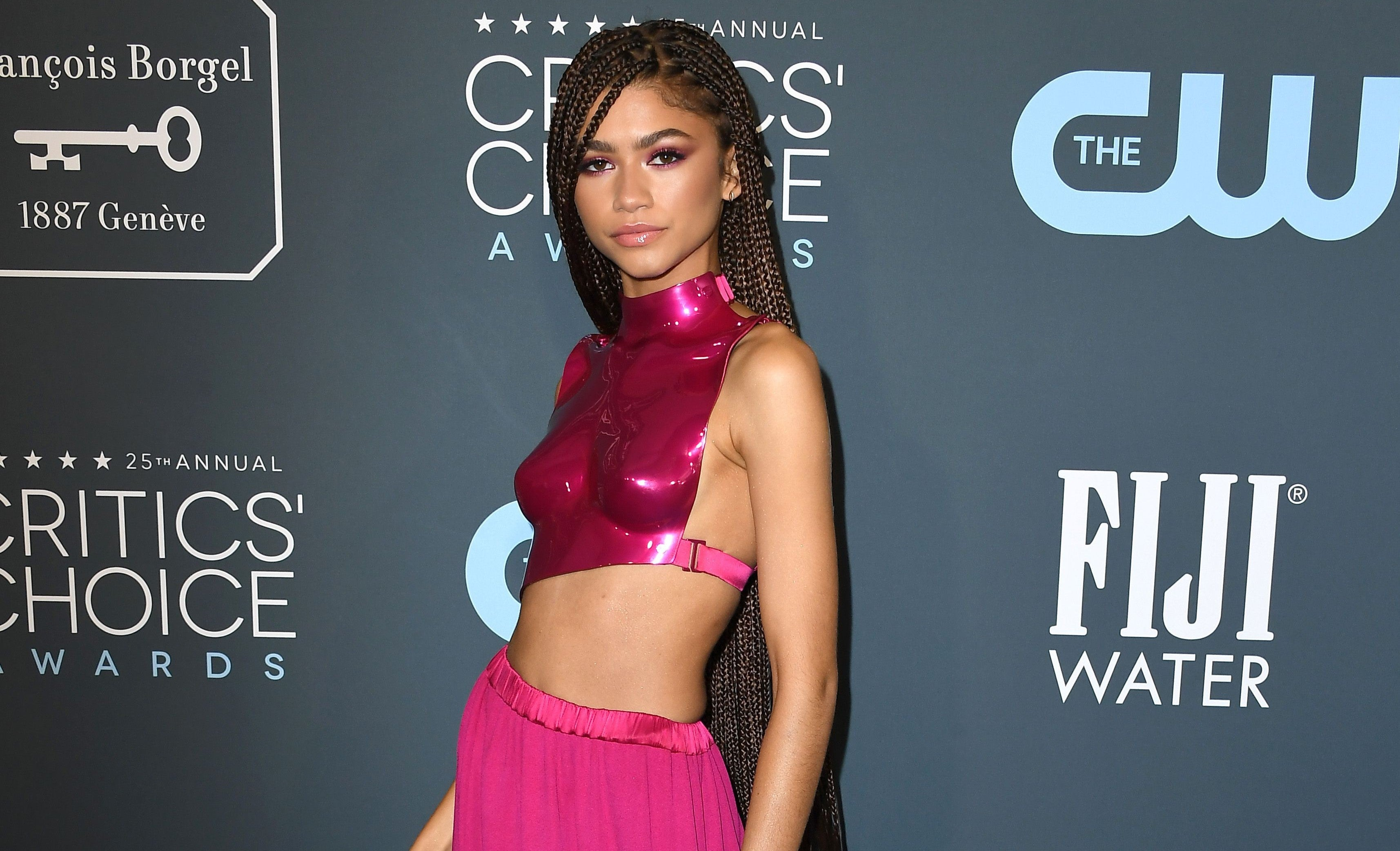 Zendaya v topu a sukni Tom Ford na Annual Critics' Choice Awards Autor: Steve Granitz/WireImage