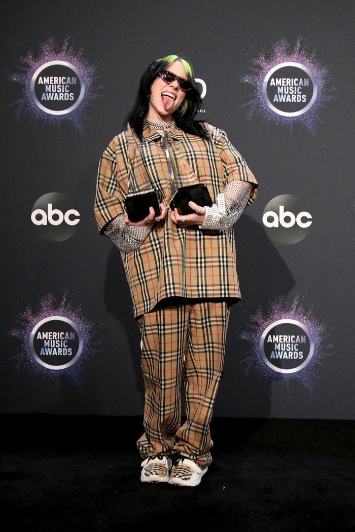 Billie Eilish, American Music Awards, 24. listopadu 2019, Los Angeles Autor: Rich Fury/Getty Images