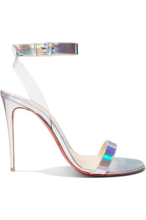 Sandálky Jonatina s PVC páskem, Christian Louboutin, prodává Net-a-porter, 625 €