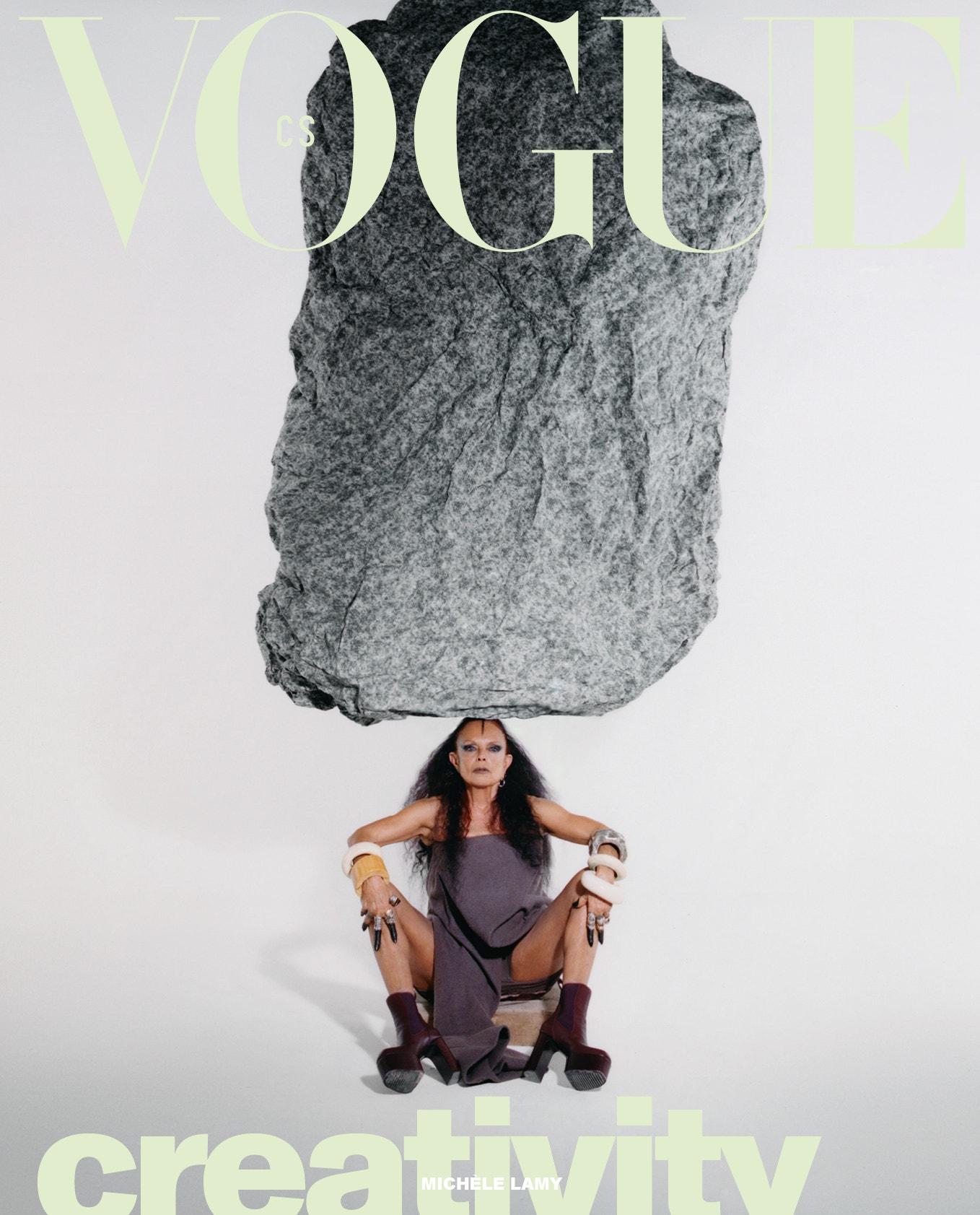 Michèle Lamy, Vogue CS, březen 2021
