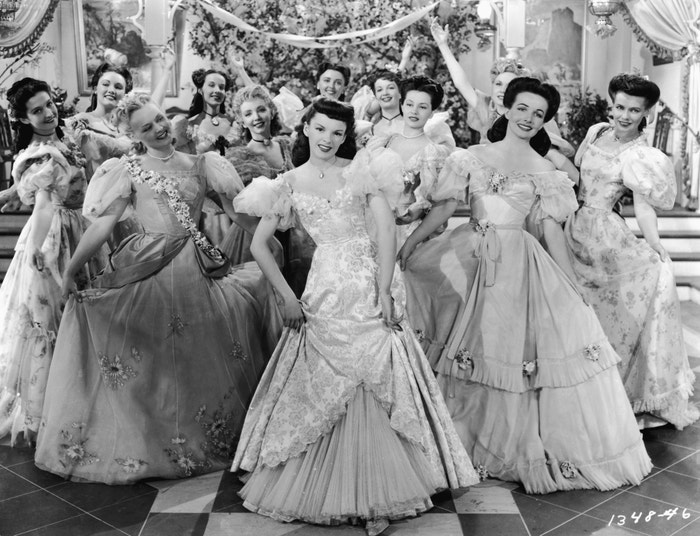 Judy Garland ve filmu The Harvey Girls