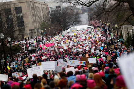 Women's March, Washington, leden 2017