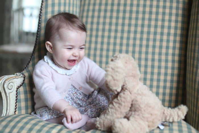 Princezna Charlotte, 2015 Autor: REX/Shutterstock