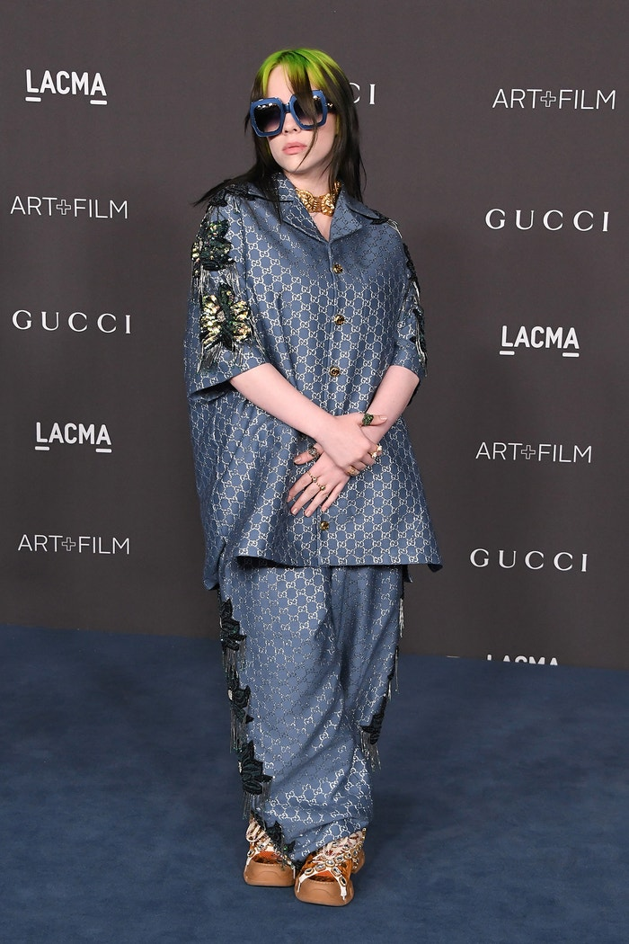 Billie Eilish na akci LACMA Art + Film Gala, listopad 2019  Autor: Getty Images
