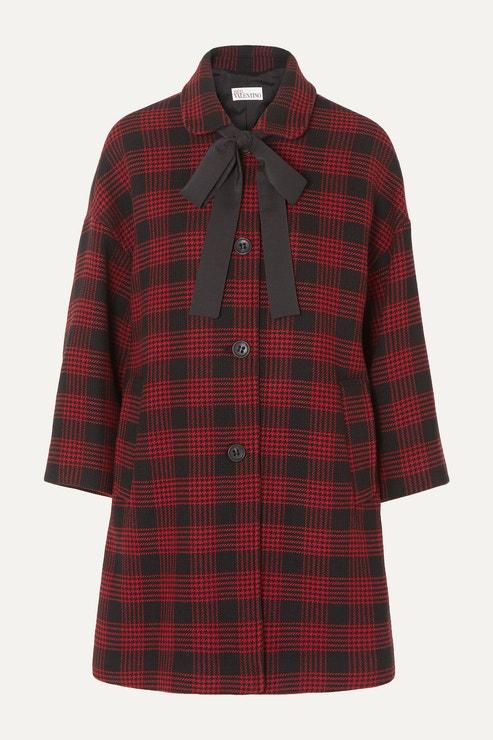 Tvídový kabát, REDVALENTINO, 448.00 €