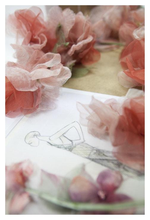 Výroba baletních kostýmů Nuit Blanche